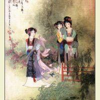Three Beautiful Sisters, Orphaned Young - 鱼玄机 - Yu Xuanji - Yu Hsuan Chi