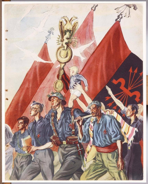 Proclamation of the Spanish Falange of the J.O.N.S. – Jose Antonio Primo deRivera