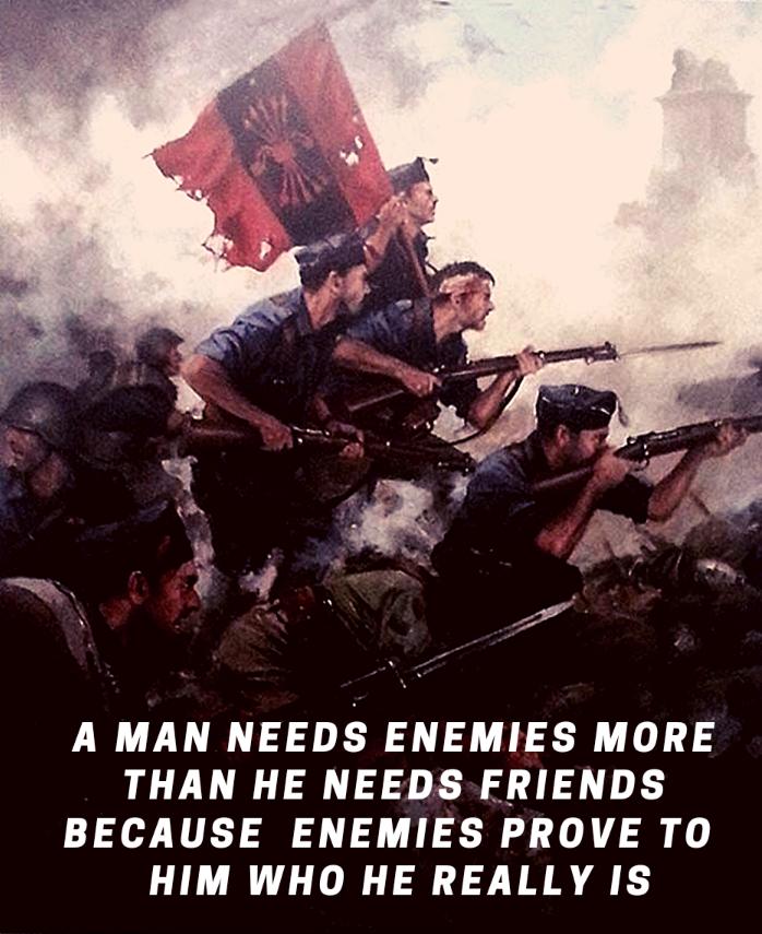 A Man NeedsEnemies