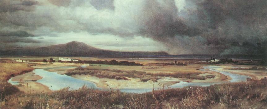 Windblown Grasses –Haiku