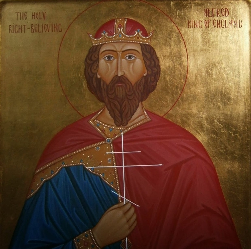 A Prayer of Intersession To Saint Alfred The Great For America
